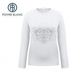 Maillot POIVRE BLANC W17-1954 WO Blanc Femme