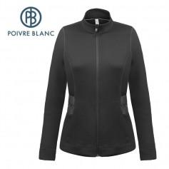 Veste POIVRE BLANC W17-3601 WO Noir Femme