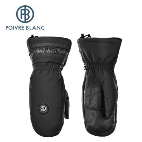 Moufles de ski POIVRE BLANC W17-0872 WO Noir Femmes