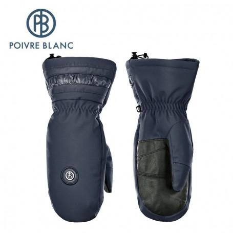 Moufles de ski POIVRE BLANC W17-0872 WO Bleu Femmes