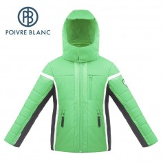 Veste de ski POIVRE BLANC W17-900 JRBY Vert Garçon