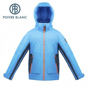 Veste de ski POIVRE BLANC W17-903 JRBY Bleu Garçon