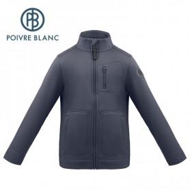 Veste stretch POIVRE BLANC W17-1710 JRBY Bleu marine Garçon