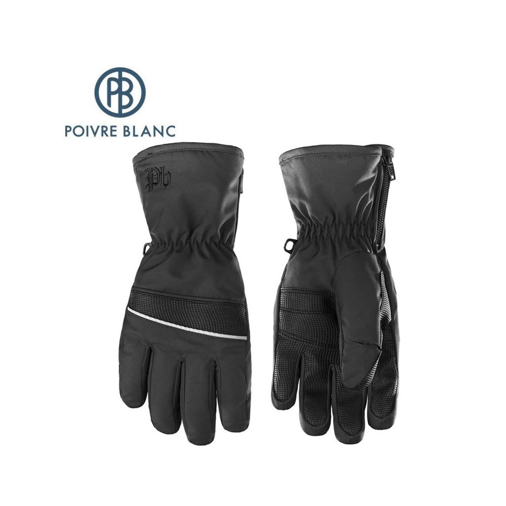 Gants de ski POIVRE BLANC W17-0970 JRBY Noir Garçon