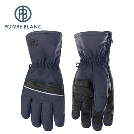 Gants de ski POIVRE BLANC W17-0970 JRBY Bleu marine Garçon