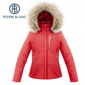 Veste de ski POIVRE BLANC W17-0802 JRGL/A Rouge Fille