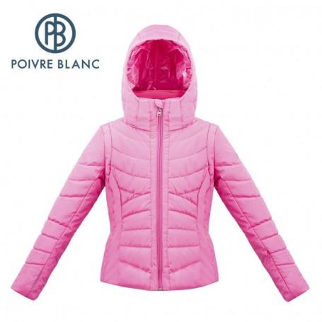 Blouson de ski POIVRE BLANC W17-1004 JRGL Rose Fille