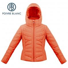 Blouson de ski POIVRE BLANC W17-1004 JRGL Orange Fille