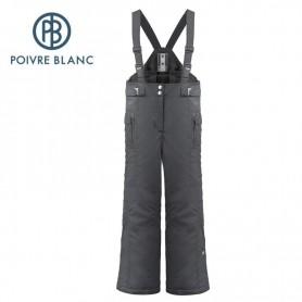 Salopette de ski POIVRE BLANC W17-1022 JRGL Noir Fille