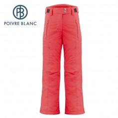 Pantalon de ski POIVRE BLANC W17-1020 JRGL Rouge Fille