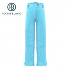 Pantalon de ski POIVRE BLANC W17-0820 JRGL Bleu Fille