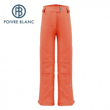 Pantalon de ski POIVRE BLANC W17-0820 JRGL Orange Fille