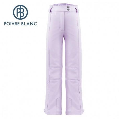 Pantalon de ski POIVRE BLANC W17-0820 JRGL Violet Fille