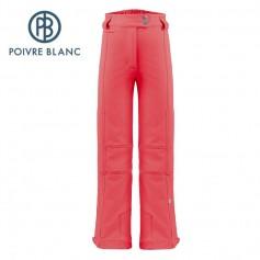 Pantalon de ski POIVRE BLANC W17-0820 JRGL Rouge Fille