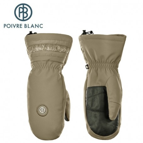 Moufles de ski POIVRE BLANC W17-1072 JRGL Marron Fille