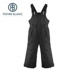 Salopette de ski POIVRE BLANC W17-0924 BBBY Noir BB Garçon