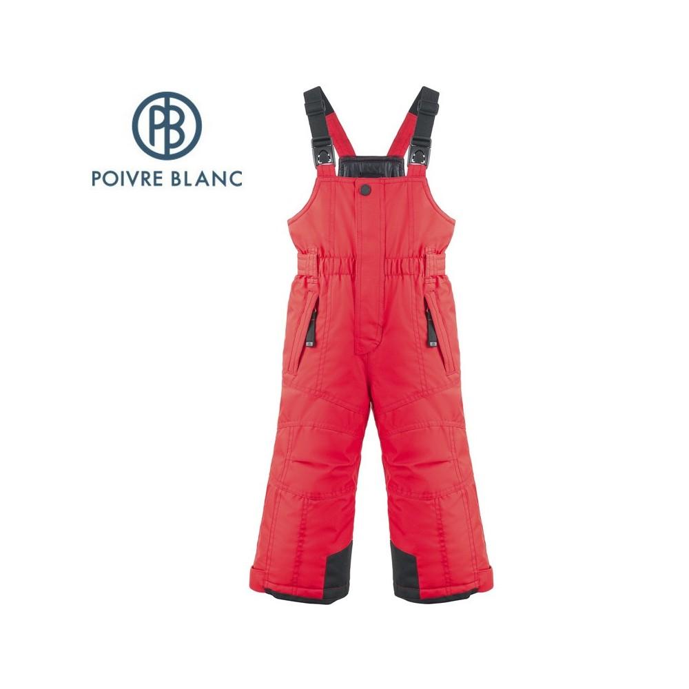 Salopette de ski POIVRE BLANC W17-0924 BBBY Rouge BB Garçon