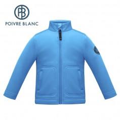 Veste stretch POIVRE BLANC W17-1710 BBBY Bleu BB Garçon