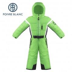 Combinaison de ski POIVRE BLANC W17-0930 BBBY Vert / Gris BB Garçon
