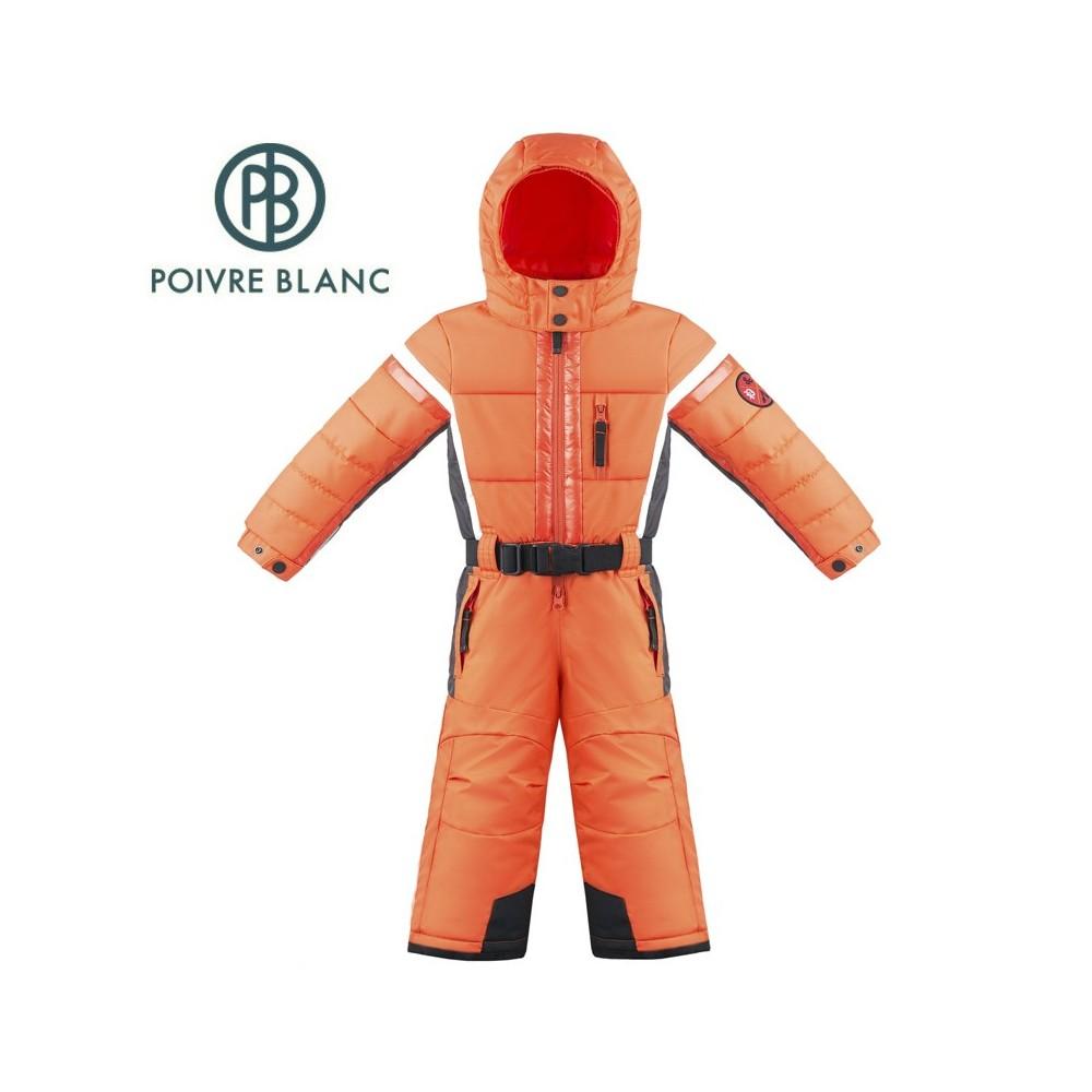 Combinaison de ski POIVRE BLANC W17-0930 BBBY Orange / Gris BB Garçon