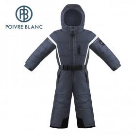 Combinaison de ski POIVRE BLANC W17-0930 BBBY Bleu marine BB Garçon