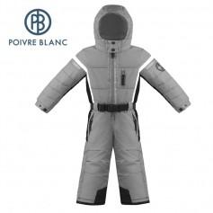 Combinaison de ski POIVRE BLANC W17-0930 BBBY Gris / Noir BB Garçon