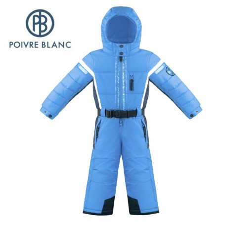 Combinaison de ski POIVRE BLANC W17-0930 BBBY Bleu / Bleu marine BB Garçon