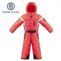 Combinaison de ski POIVRE BLANC W17-0930 BBBY Rouge BB Garçon