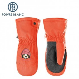 Moufles de ski POIVRE BLANC W17-0973 BBBY Orange BB Garçon