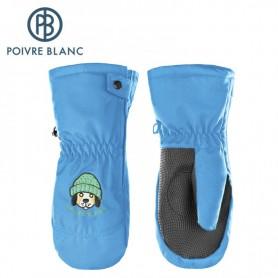 Moufles de ski POIVRE BLANC W17-0973 BBBY Bleu BB Garçon