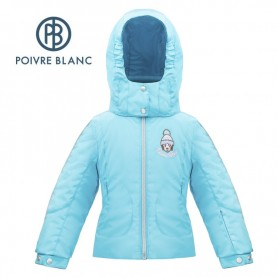 Veste de ski POIVRE BLANC W17-1006 BBGL/N Bleu BB Fille