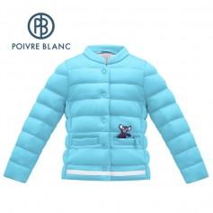 Veste matelassée POIVRE BLANC W17-1750 BBGL Bleu BB Fille