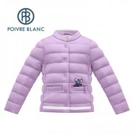 Veste matelassée POIVRE BLANC W17-1750 BBGL Violet BB Fille