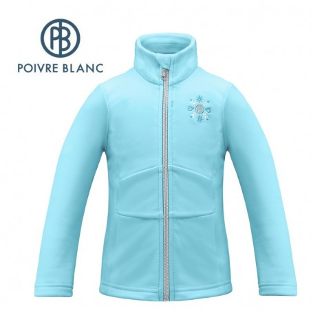 Veste stretch POIVRE BLANC W17-1700 BBGL Bleu BB Fille