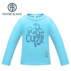 Maillot POIVRE BLANC W17-1943 BBGL Bleu BB Fille