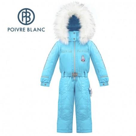 Combinaison de ski POIVRE BLANC W17-1030 BBGL Bleu BB Fille