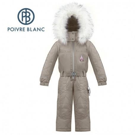 Combinaison de ski POIVRE BLANC W17-1030 BBGL Marron BB Fille