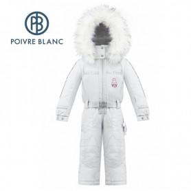 Combinaison de ski POIVRE BLANC W17-1030 BBGL Blanc BB Fille
