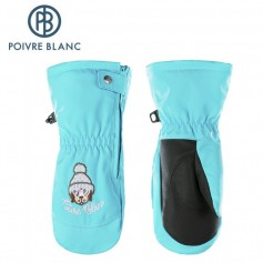 Moufles de ski POIVRE BLANC W17-1073 BBGL Bleu BB Fille