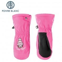 Moufles de ski POIVRE BLANC W17-1073 BBGL Rose BB Fille