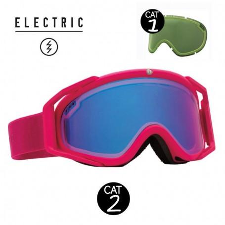 Masque de ski ELECTRIC RIG.5 Rose Unisexe