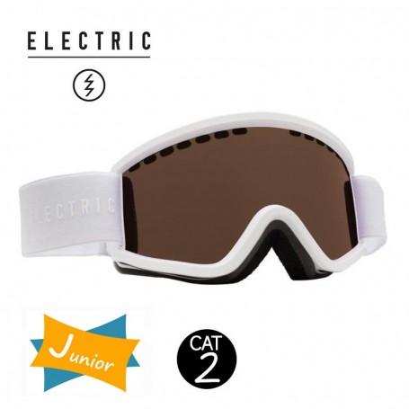 Masque de ski ELECTRIC EGV.K Blanc Junior Cat.2