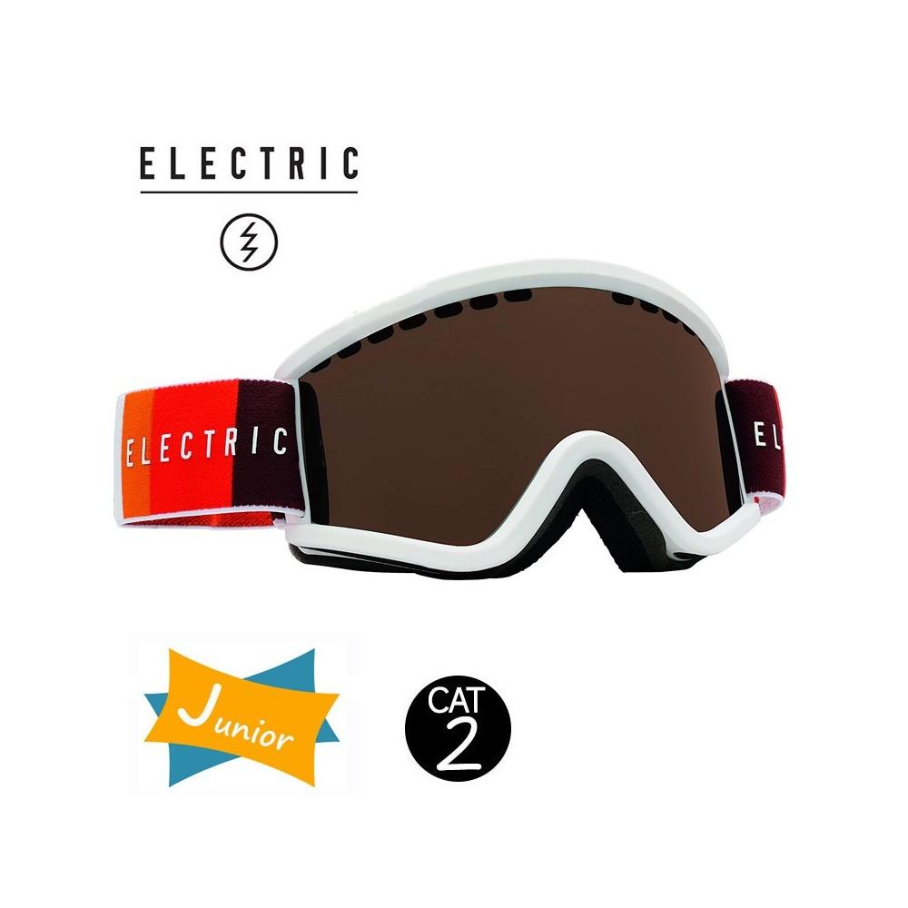 Masque de ski ELECTRIC EGV.K Orange Junior Cat.2
