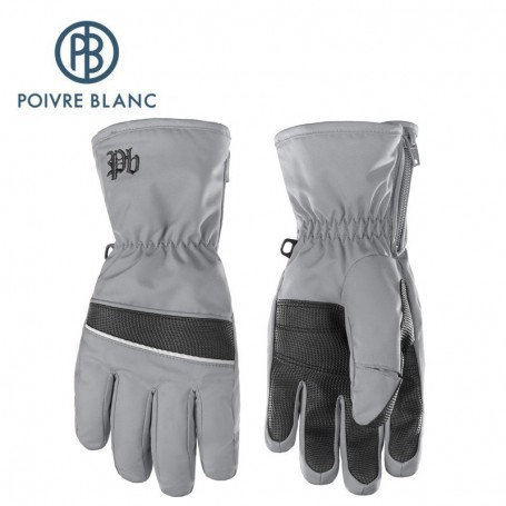 Gants de ski POIVRE BLANC W17-0970 JRBY Gris Garçon