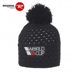 Bonnet de ski ROSSIGNOL World Cup Pompon Noir Homme