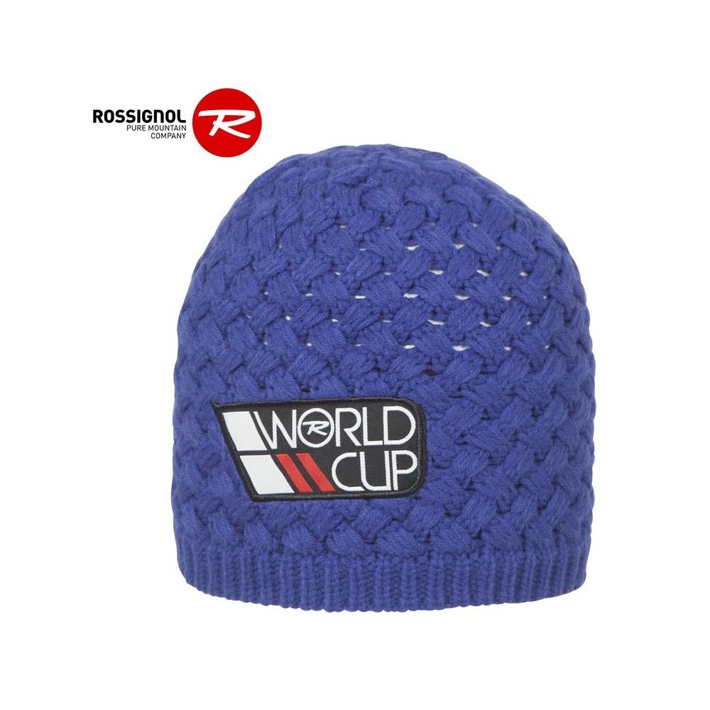 Bonnet de ski ROSSIGNOL World Cup Bleu Homme