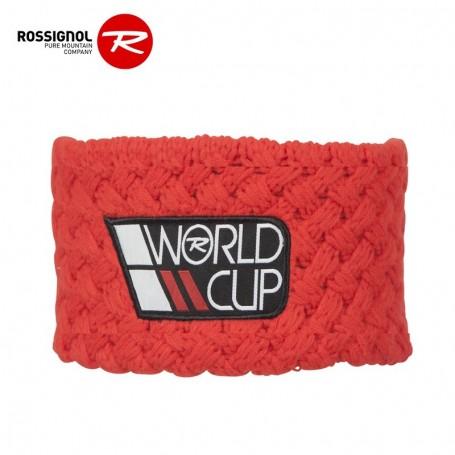Bandeau de ski ROSSIGNOL World Cup Rouge Orangé Homme