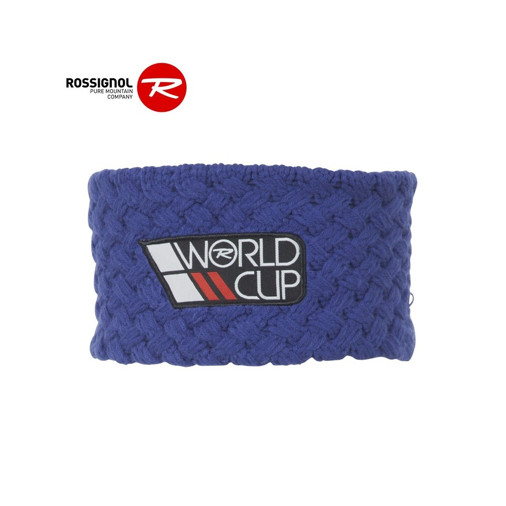 Bandeau de ski ROSSIGNOL World Cup Bleu Homme
