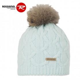 Bonnet de ski ROSSIGNOL Gyna Vert d'eau Femme
