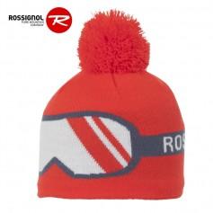 Bonnet de ski ROSSIGNOL Noe Rouge Orangé Junior